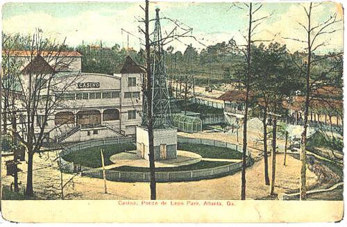 Casino, Ponce de Leon Park, circa 1908