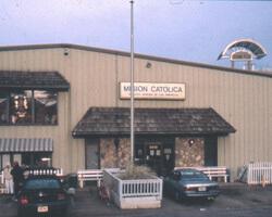 The Misión Católica de Nuestra Señora de las Américas. Doraville, Georgia. Photo by Mary Odem, 2000