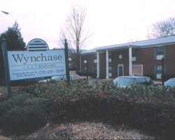 Wynchase Apartments on Shallowford Road. Doraville, Georgia. Photo by Mary Odem, 2001
