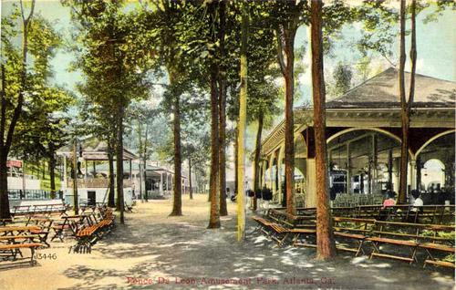 Ponce De Leon postcard, circa 1910.