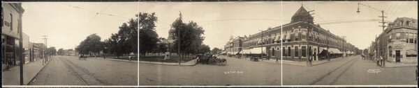 Olathe, Kansas, 1909 Library of Congress American Memory Archive