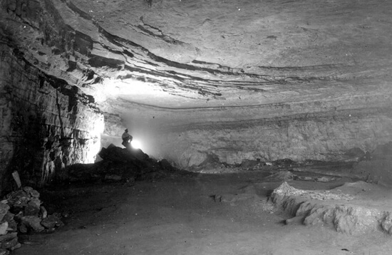 Allen Glennon, Rotunda Room, Mammoth Cave, Kentucky, 2005.