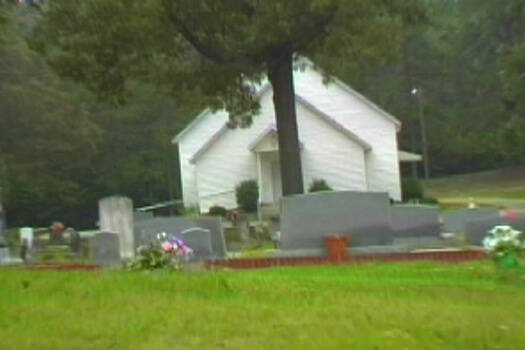 Holly Springs Primitive Baptist Church, Bremen, GA, June 2004. Image courtesy of Matt and Erica Hinton.