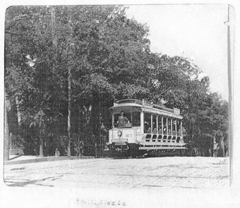 Nine Mile Circle Trolley, circa 1895