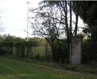 Kwesi DeGraft-Hanson, Part of the former Ten Broeck Race Course site, now Bradley Plywood Corporation property, Savannah, Georgia, November 2007.