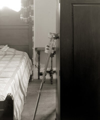 Nancy Marshall, O'Connor's bed, Andalusia, Spring 2007.