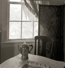 Nancy Marshall, Upstairs with coffee pot, Andalusia, Spring 2007.