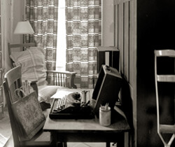 Nancy Marshall, O'Connor's room and writing place, Andalusia, Spring 2007.
