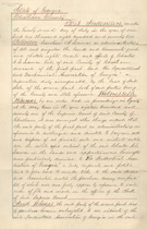Deed of Sale for Ten Broeck Race Course, Page 1 of 4, 1872.