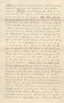 Deed of Sale for Ten Broeck Race Course, Page 3 of 4, 1872.