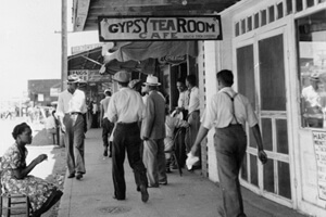 Gypsy Tea Room, Deep Ellum, 1930s, courtesy of the Dallas Public Library