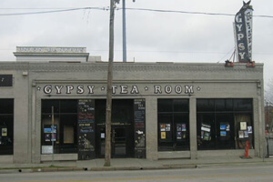 Kevin Pask, The new Deep Ellum quoting the old: Gypsy Tea Room, 2007 (since closed)