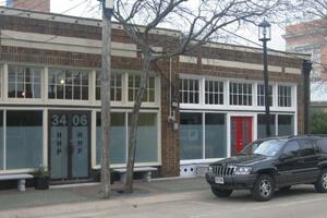 Kevin Pask, 3406 Main Street, Deep Ellum Site of former Studio D, 2007.