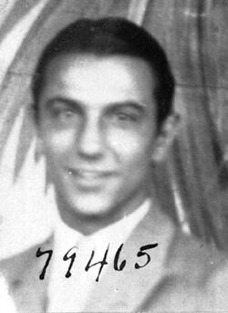 Photographer unknown, Centro Asturiano membership record of Agiliano, J., Ybor City, Florida, date unknown. Catalog no.: C16-M01253 doi. University of South Florida Digital Collections.