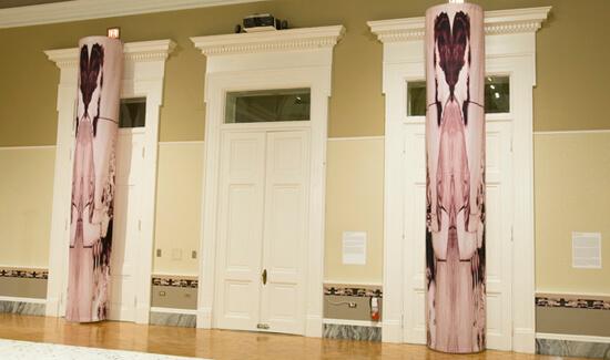 Susan Harbage Page, Background Material: Columns, Charleston, South Carolina, 2009. Photo: Rick Rhodes.