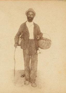 Mandeville Thum, Mat, the oldest guide, Mammoth Cave, Kentucky, 1876-1877.