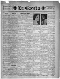 La Gaceta 11/174, July 22, 1933. University of South Florida Digital Collections.