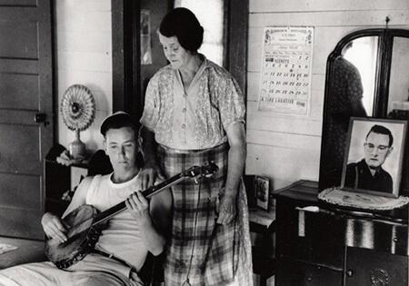 John Cohen, Odabe and Mary Jane Halcomb, KY, 1959
