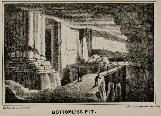 Alexander Clark Bullitt, Bottomless Pit, 1845. Courtesy of American Antiquarian Society
