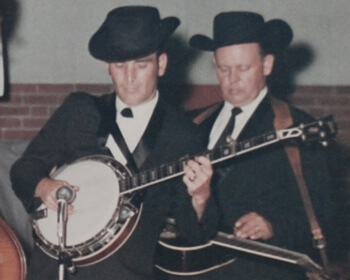 Tennessee Jamboree, L.C. Edwards and Monroe Queener, LaFollette, Tennessee, 1968.