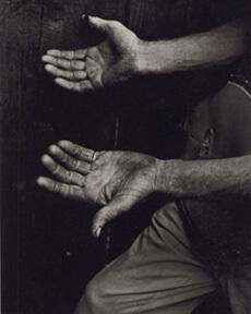 John Cohen, Roscoe Holcomb's hands, KY, 1959