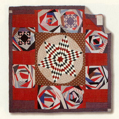 Laurel Horton, Paul's Crazy Quilt, circa 1875 and ca 1915