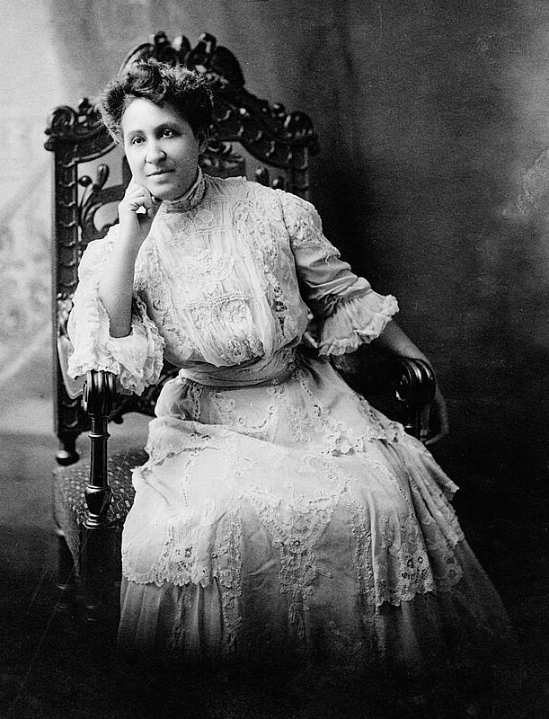 Mary Church Terrell, three-quarter length portrait, seated, facing front, ca. 1880–1900. Photograph. Courtesy of the Library of Congress, Prints and Photographs Division, loc.gov/resource/cph.3b47842.
