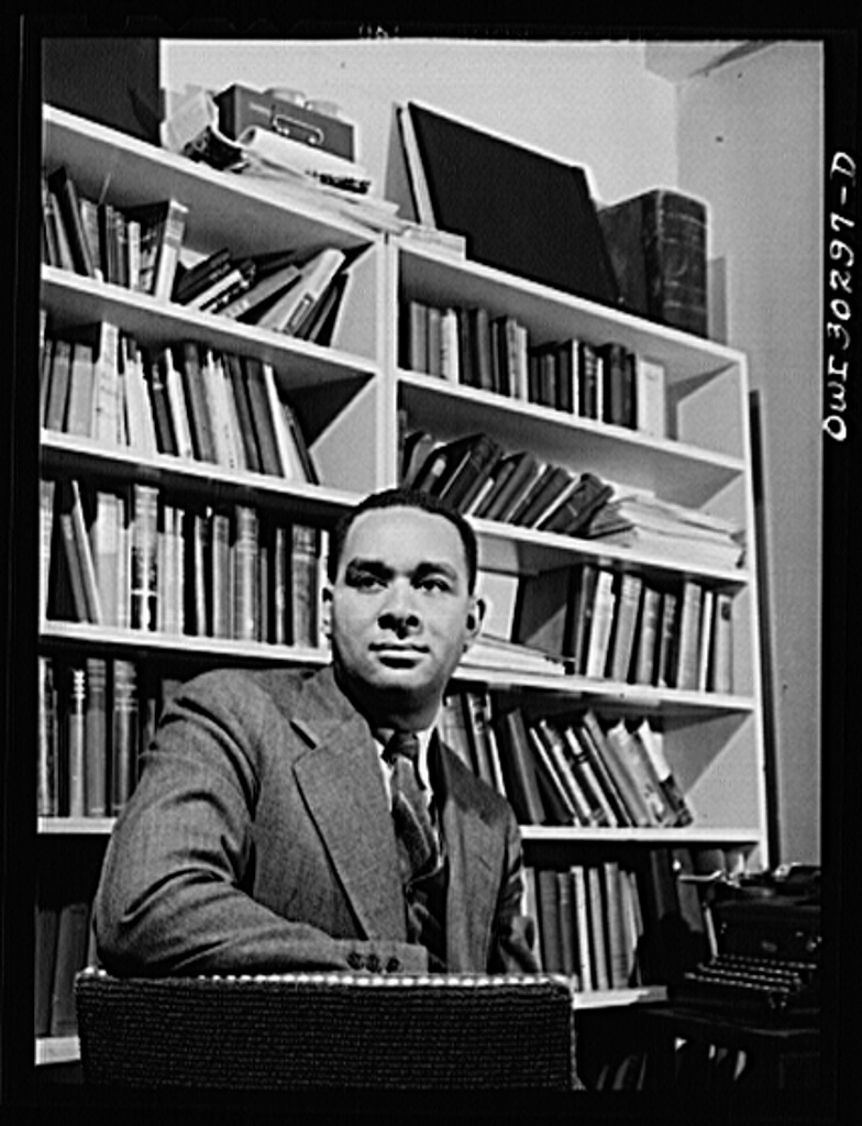 New York, New York. Portrait of Richard Wright, poet, May 1943. Photograph by Gordon Parks. Courtesy of the Library of Congress Prints and Photographs Division, https://www.loc.gov/item/owi2001029485/PP/