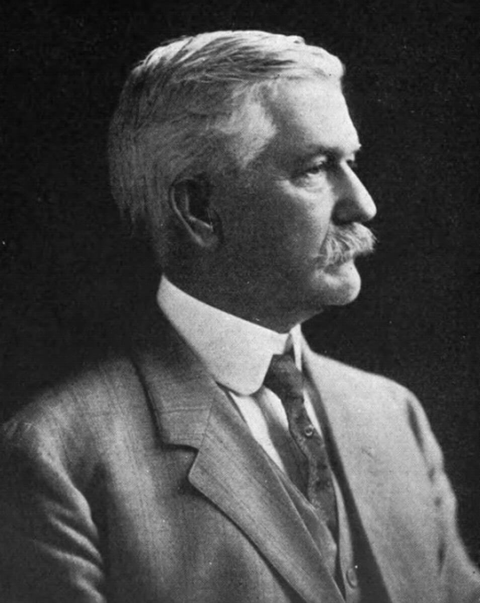 Portrait of Col. William Crawford Gorgas, ca. 1916. Photograph by Farnham Bishop. Courtesy of Wikimedia Commons. Image is in public domain.