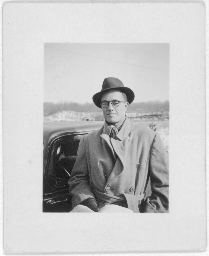 John A. Lomax, Jr., ca. 1930–1950. Photograph from The Lomax Collection, Library of Congress. Courtesy of The Library of Congress, Prints and Photographs Online Catalog, digital ID http://loc.gov/pictures/resource/ppmsc.00629/.