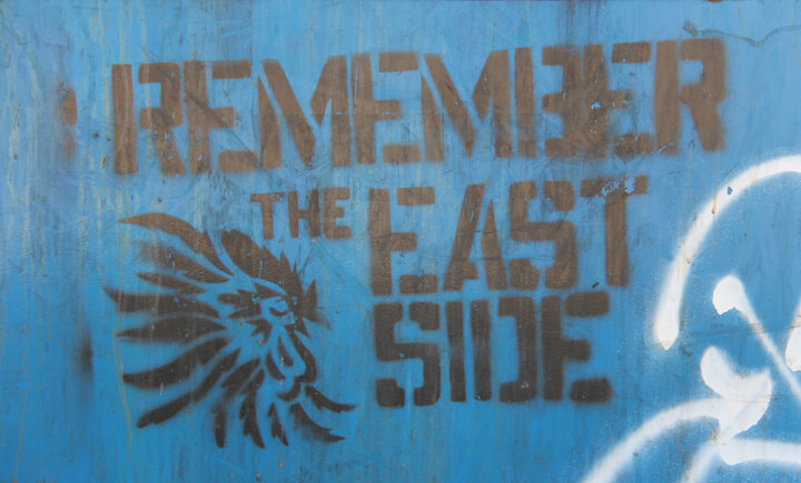 Remember the Eastside, Austin, Texas, February 2, 2013. Photograph by Flickr user vjlawson2001 (CC BY-SA 2.0).