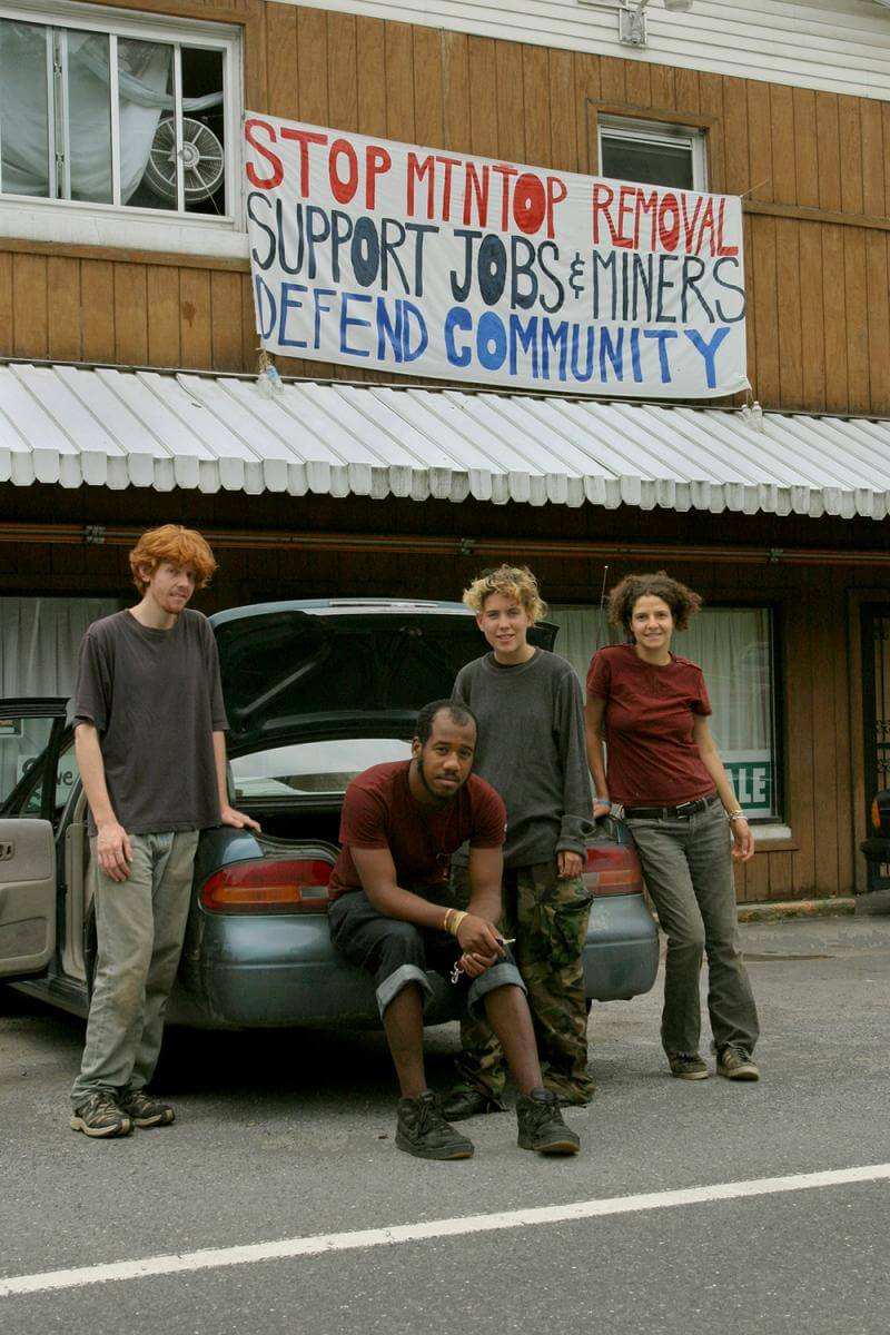 Environmental activist volunteers. Raleigh County, WV, 2005.