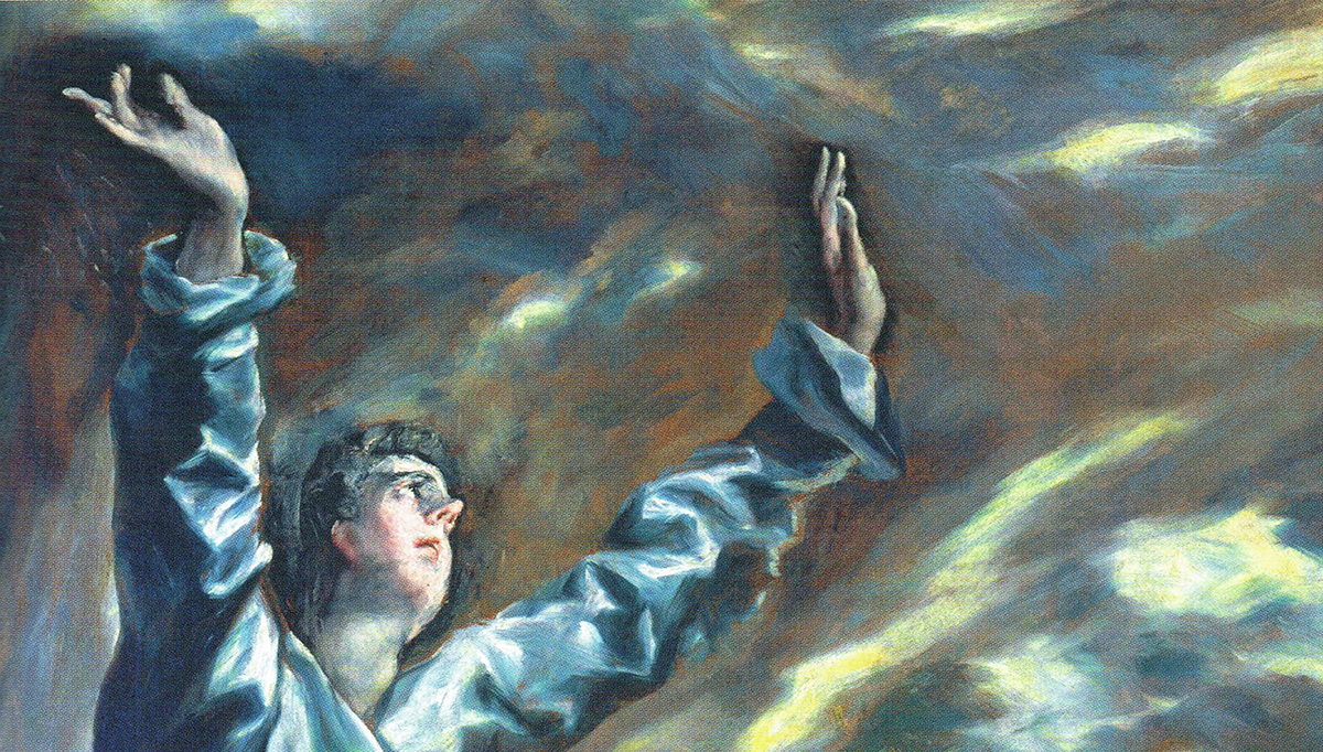 Detail from El Greco's The Opening of the Fifth Seal [the Vision of Saint John] (ca. 1608–1614). Courtesy of Flickr user cea+. Creative Commons license CC BY 2.0.