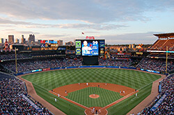 Turner Field, April 6, 2013. Photograph by Zpb52. Courtesy of Wikimedia Commons.