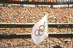 Centennial Olympic Stadium, 1996. Photograph by Edwin P. Ewing, Jr. From the Center for Disease Control and Prevention Public Health Image Library, 1485.