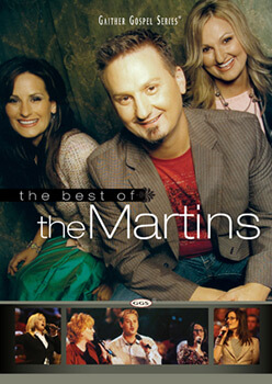 The Best of the Martins, 2011. Gaither Gospel Series DVD cover. © Slanted Records and The Martins.