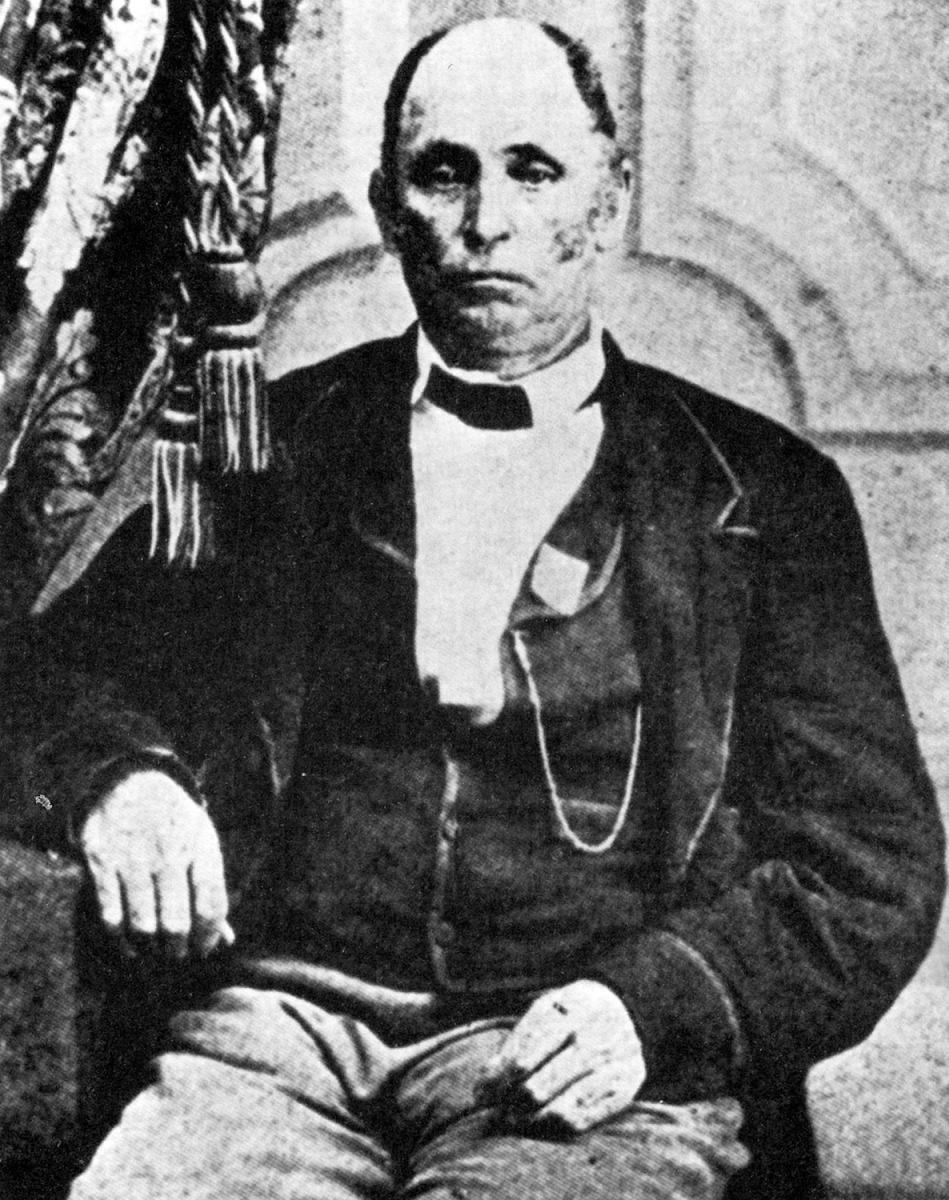 Photograph of Daniel R. Mitchell. Originally published in Jerry R. Desmond's Georgia's Rome: A Brief History (Charleston, SC: The History Press, 2008), 29. Image provided by Sarah H. Hill.