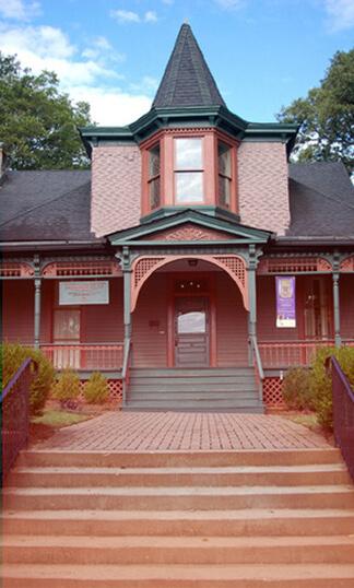 The Hammonds House Museum, Atlanta, Georgia. Photograph courtesy of The Hammonds House Museum.