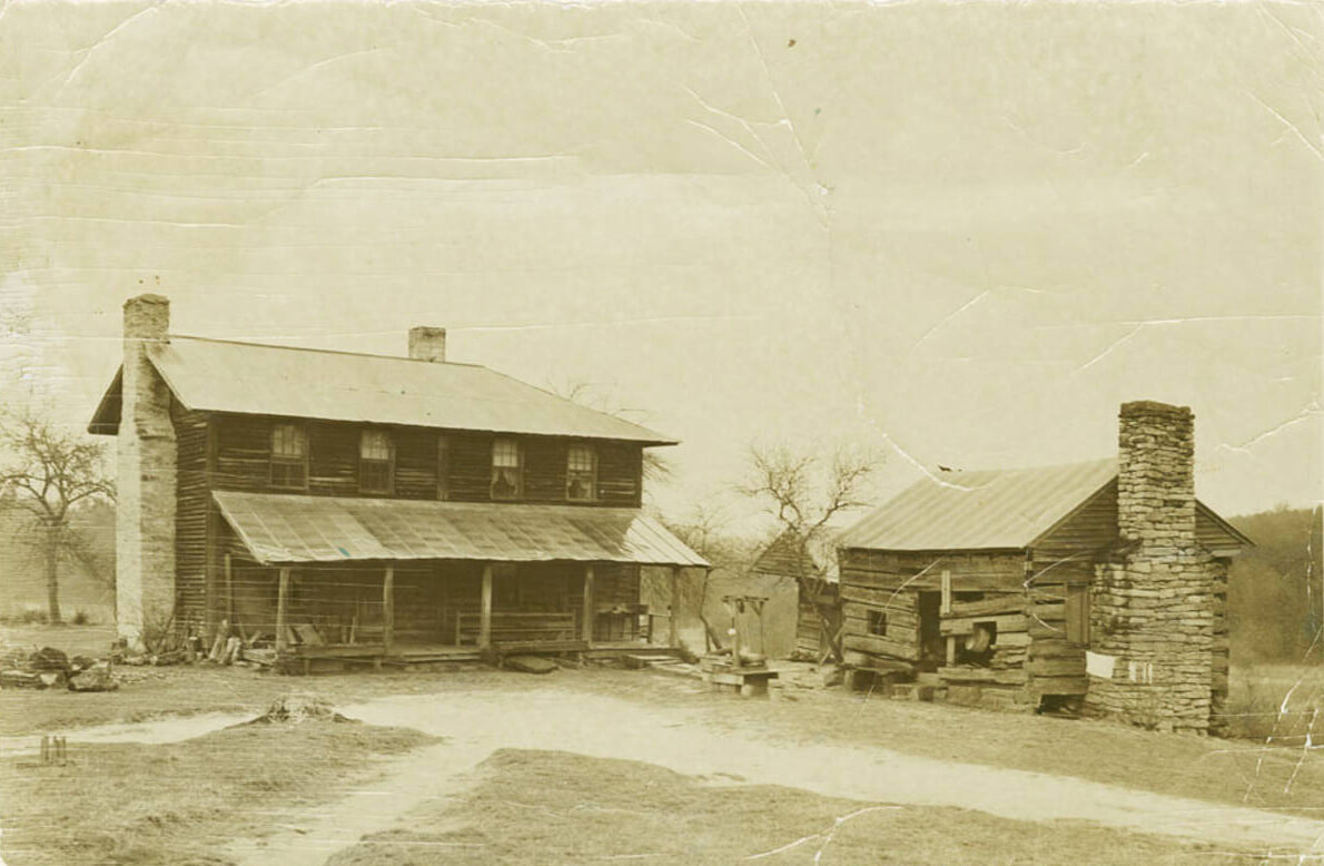 Home of Chang and Eng Bunker, Surry County, North Carolina, ca. 1870–1900. Photograph by unknown creator. Courtesy of the Southern Historical Collection, Louis Round Wilson Special Collections Library, University of North Carolina at Chapel Hill.