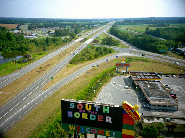 Vern Kousky, View from giant sombrero, South of the Border, South Carolina, 2007.