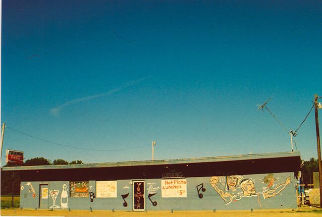 Erin Abbott, The Blue Room, Greenwood, Mississippi, 2007.