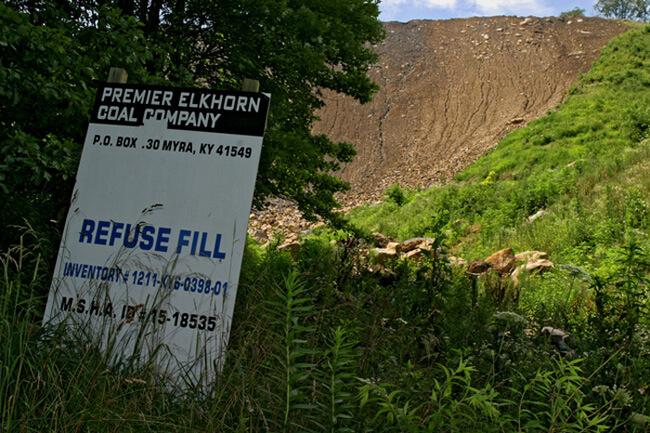 Earl Dotter, Premier Elkhorn Coal Company refuse fill, Pike County, Kentucky, 2005.