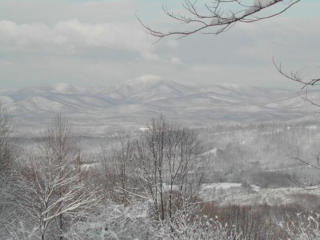 Harold B. Gill, Jr., A Virginia winter, Amherst County, Virginia, 2008.
