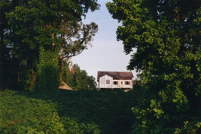 Bruce West, New house, Vicksburg, Mississippi, 1996.
