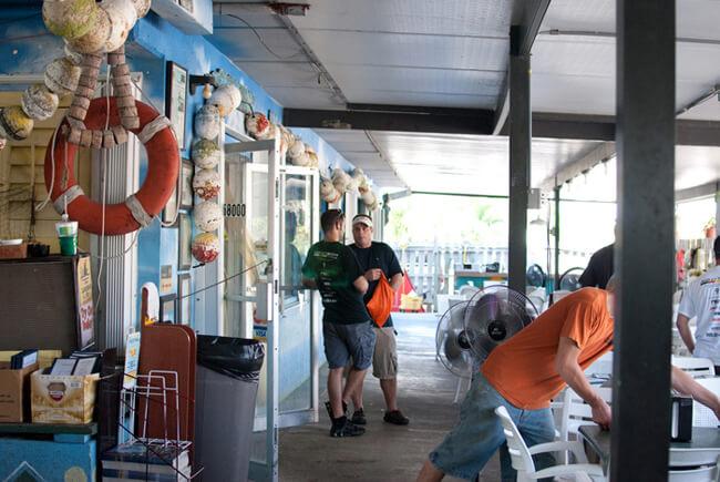 Jorge de la Llama, Alabama Jack's, Key Largo, Florida, 2009.