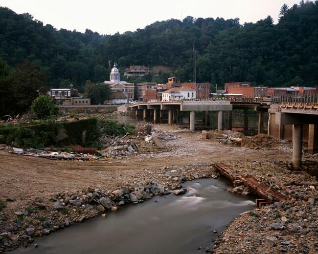Jeff Rich, Bridge reconstruction, Marshall, North Carolina, 2006.