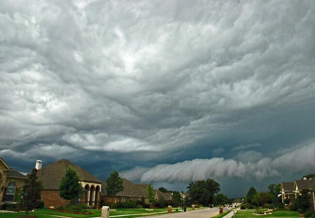 Jeff Clow, Storm season in Texas, Corinth, Texas, 2005.