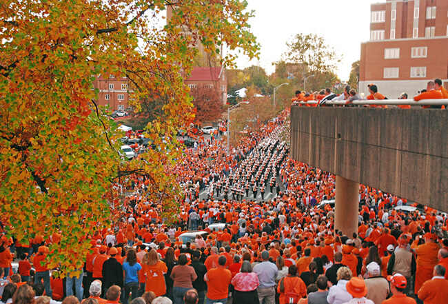 Patrick Oglesby, University of Tennessee Homecoming, Knoxville, Tennessee, 2009.