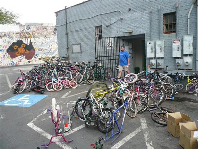 Stewart Varner, Sopo Bikes, Atlanta, Georgia, 2007.