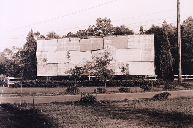 Todd Bertolaet, Old billboard, Jacksonville, Florida, 2005.